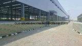 Große Überspannungs-Stahlkonstruktion-vorfabrizierte Lager-Werkstatt-Hangar-Gebäude