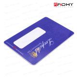 Cartão programável fino do cartão S50 RFID de 13.56MHz RFID