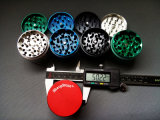 Metal in lega di zinco Herb Grinder, 50mm 3 o 4 Parte Sharpstone Metal Smoking Tobacco Grinders