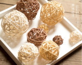 GY 3-7cm Color Selected Rattan Reed Decorative Balls