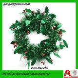 De Kroon van de Decoratie van Kerstmis van de Slinger van het Klatergoud