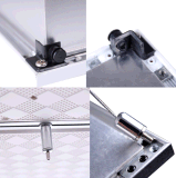 Nenhuma luz de painel padrão do diodo emissor de luz do piscamento 9mm 620mm*620mm 60W Alemanha