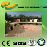 Fester/hohler WPC Decking-Fußboden mit CER