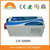 (W9-12012) 1000W12V低周波の情報処理機能をもった壁に取り付けられたインバーター