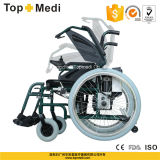 Topmedi Aluminum Power Electric Wheelchair mit Seite Controller