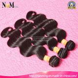 Объемная волна оптового дешевого камбоджийского сырцового цвета Natutal человеческих волос черного новая камбоджийская