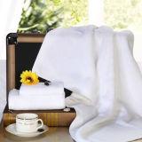 Essuie-main 100% blanc de Terry de coton de vente en gros de textile de Changhaï DPF utilisé pour l'hôtel