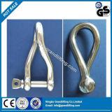 ステンレス鋼のヨーロッパ規格304のねじれの手錠