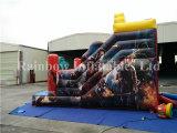 Corrediça inflável comercial do tema de 2016 Avengers do projeto novo para a venda