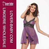 Wäsche 2016 (L27985-2) der erotischen Kleid-Frauen