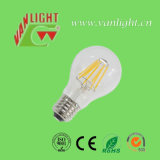 A60 6watt LED Filament Bulb Lamp com CE, RoHS