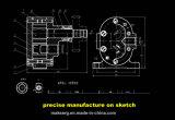 Motor, der Teil-Befestigungsteil-zusätzliches China-Fabrik-Hersteller Soem stempelt