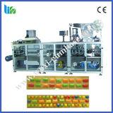 Máquina de establecimiento del paso de alta velocidad de Bllister para el chicle de la capa