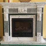 Camino di marmo intagliato pietra naturale di stile di Europen