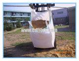 Sacos enormes laterais do saco FIBC da tonelada da emenda para a areia ou o cimento