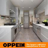 Moderne Glanzende Grijze Houten Acryl In het groot Modulaire Keukenkast (OP16-A01)