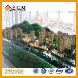 Het Model van onroerende goederen/Project die het Model/Architecturale Model Maken van WoonFlats/Architecturale Modellerende Bouw ModelMaker bouwen/Model aanpassen