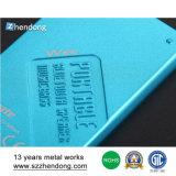 Kleines elektronisches Gehäuse-kundenspezifisches Aluminiumblatt, das Teile betätigt