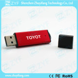Top Grad simple delgado de plástico de 2 GB de memoria USB (ZYF1286)