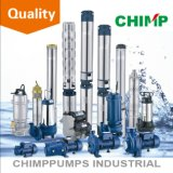 Fantástico aço inoxidável 4 '' 9 Impeller Deep Well Submersible Pump From Chimp