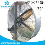 """Fibra de vidrio de la recirculación que contiene el ventilador polivinílico 72 """" con el venturi profundo"""