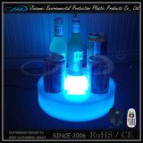 Supporto della visualizzazione della birra con l'indicatore luminoso materiale del PE LED