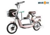 ペダルのリチウム電気スクーターの自転車、子供のシートが付いている電気バイク