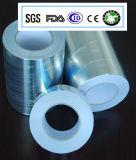 Bande de pouvoir adhésif intense et de papier d'aluminium de résistance chimique