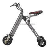 Motorino elettrico progettato delle tre rotelle di stile pieghevole della bici K della città un nuovo per l'adulto/capretto/adolescente