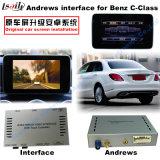 (12-14) HD車のアップグレードのマルチメディアベンツCのための人間の特徴をもつビデオインターフェイスGPS操縦士