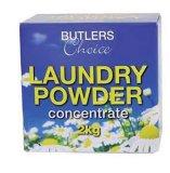 Detergente Laundrypowder con espuma de alta