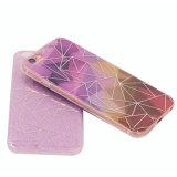 Nuevos rasguño doble del modelo de la caja del teléfono celular del diamante del iPhone 6 IMD de los diseños (XSDD-035)