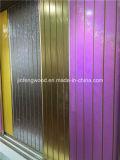 15mm 17mm Melamine Slatwall Board/Slot MDF