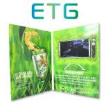 LCDのビデオ商号のカードのパンフレットのカード
