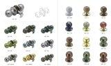 최신 판매 남아메리카 원통 모양 손잡이 자물쇠