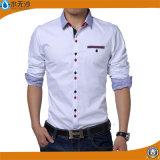 De gloednieuwe Overhemden van Mensen vormen Toevallig Bedrijfs Formeel Overhemd