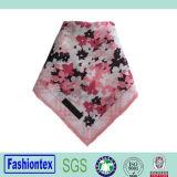 Lenço floral do vintage das senhoras do algodão do lenço 100 do projeto