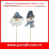 Palillo del regalo de la Navidad de la decoración de la Navidad (ZY11S135-1-2)