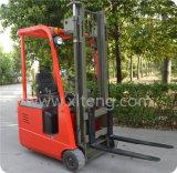 1 tonelada - 1.5 carretilla elevadora eléctrica de la rueda de la tonelada tres