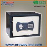 Caixa segura eletrônica Home de Digitas com construção de aço contínua, tamanho 310X200X200mm