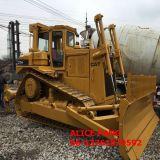 Bulldozer del cingolo del trattore a cingoli utilizzato ruspa spianatrice libera D7h di tiro della pittura (2008Year/4000hrs)