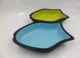 Керамический Cat Dish в Fish Shape