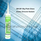Wonstar essigsaure Silikon-dichtungsmasse für grosses Platten-Glas