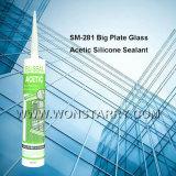 Vedador acético do silicone de Wonstar para o vidro de placa grande