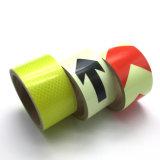 Flourescent затвердетая цветом пленка PVC отражательная