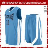 L'insieme poco costoso dell'uniforme di pallacanestro degli uomini verdi personalizza