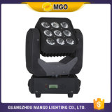 Iluminación 9X12W RGBW 4 de la etapa de RoHS LED del Ce en 1 luz de la matriz