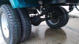 Cargado pesada Modelo potente del Carro del cargo triciclo 200cc Doble Rueda trasera
