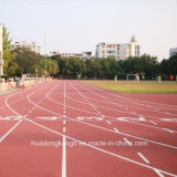 De Oppervlakte van de Bevloering van de Renbaan van de Sporten van het stadion, de Olympische RubberPrijs van de Bevloering