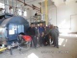 Tubo de fuel de paso de tres Fuego Packaged caldera de vapor